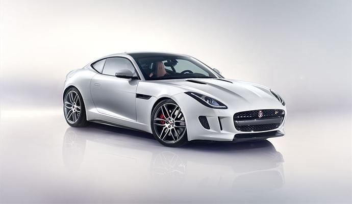 José Mourinhóé a legelső Jaguar F-TYPE Coupé