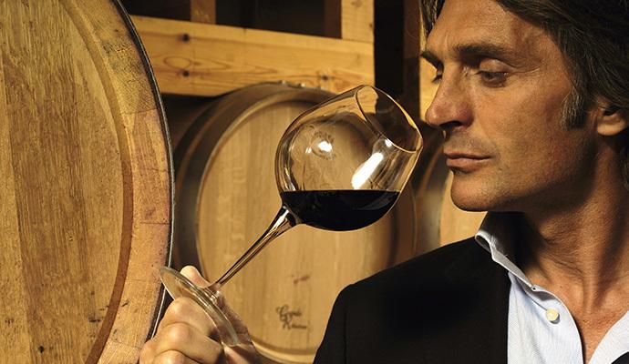 A férfi és a bor